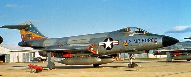 F-101C 56-0022 of 81st TFW
