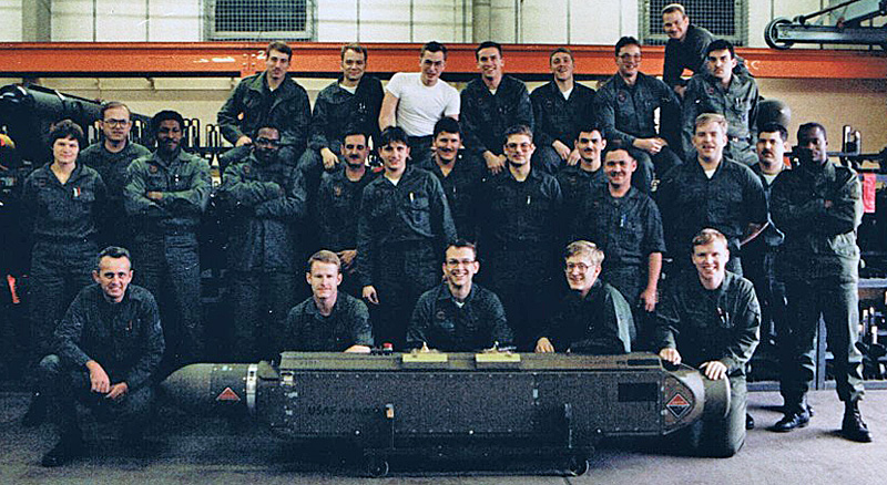 Bentwaters ECM shop 1987